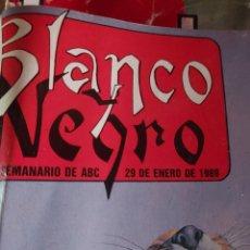 Coleccionismo de Revista Blanco y Negro: REVISTA BLANCO Y NEGRO AÑO 1989. Lote 263673265