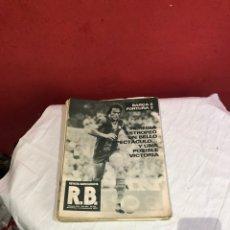 Coleccionismo de Revista Blanco y Negro: LOTE DE 23 REVISTAS BARCELONA R.B DE LOS AÑOS 1979/1980.. Lote 266051323