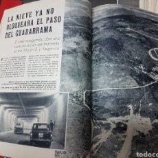 Coleccionismo de Revista Blanco y Negro: INAGURACION TUNEL DE GUADARRAMA. Lote 266367678