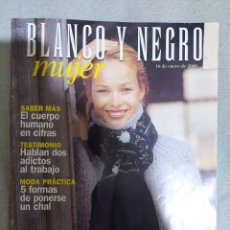 Coleccionismo de Revista Blanco y Negro: BLANCO Y NEGRO. 16 DE ENERO DE 2000. REVISTA EN EXCELENTE ESTADO DE CONSERVACIÓN.. Lote 266817304