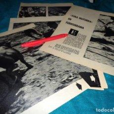 Coleccionismo de Revista Blanco y Negro: RECORTE : SOKA MUTURRA, EN FUENTERRABIA. BLANCO Y NEGRO, OCTBRE 1960(#). Lote 268583324