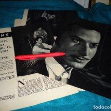 Coleccionismo de Revista Blanco y Negro: RECORTE : VICENTE PARRA, ENTRE EL TEATRO Y EL CINE. BLANCO Y NEGRO, OCTBRE 1960(#). Lote 268583394