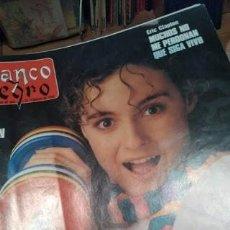 Coleccionismo de Revista Blanco y Negro: PACK LOTE ENCUADERNADO 11 REVISTAS BLANCO Y NEGRO AÑO 1990 ALASKA, ANA TORROJA MECANO, ANA OBREGÓN. Lote 268786164