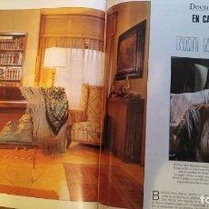 Collectionnisme de Magazine Blanco y Negro: REPORTAJE NATI MISTRAL AÑO 1990 REVISTA BLANCO Y NEGRO. Lote 268786549