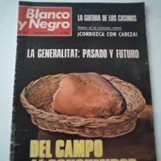 Coleccionismo de Revista Blanco y Negro: BLANCO Y NEGRO 3408. AGOSTO 1977. Lote 269575153