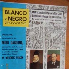 Coleccionismo de Revista Blanco y Negro: BLANCO Y NEGRO Nº 2559 - REVISTA 20 MAYO 1961 - MADRID, LA CAPITAL DE ESPAÑA CUMPLE 400 AÑOS - BEX. Lote 270174233