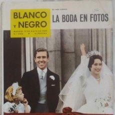 Coleccionismo de Revista Blanco y Negro: BLANCO Y NEGRO. MAYO 1960. Nº 2506. LA BODA DE LA PRINCESA MARGARITA. REVISTA. Lote 270898503