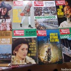 Coleccionismo de Revista Blanco y Negro: LOTE 8 REVISTAS BLANCO Y NEGRO AÑO 1969. Lote 270953543