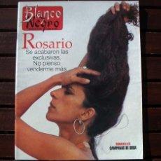 Coleccionismo de Revista Blanco y Negro: BLANCO Y NEGRO / ROSARIO FLORES, TIGER WOODS, JEAN CLAUDE VAN DAMME. Lote 271415093