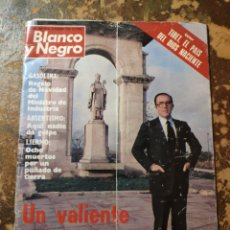 Coleccionismo de Revista Blanco y Negro: REVISTA BLANCO Y NEGRO N° 3580 (MADRID, DICIEMBRE 1980). Lote 271464803