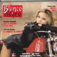 Colecionismo de Revistas Preto e Branco: REVISTA BLANCO Y NEGRO Nº 3769 AÑO 1991. JOSÉ LUIS PERALES. JUANITA REINA. MODELOS A SEGUIR. Lote 272052153