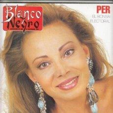 Colecionismo de Revistas Preto e Branco: REVISTA BLANCO Y NEGRO Nº 3782 AÑO 1981. PALOMA SAN BASILIO. JOSÉ LUIS SANZ MAGALLON.. Lote 272074208