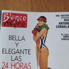 Coleccionismo de Revista Blanco y Negro: BLANCO Y NEGRO N °3608.1988. LA FURA DELS BAUS - EN CASA DE ENRIQUE SARASOLA- VER SUMARIO. Lote 272570688