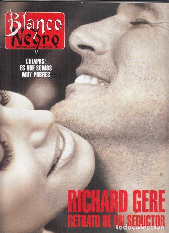 REVISTA BLANCO Y NEGRO Nº 3892 AÑO 1994. RICHARD GERE. (Coleccionismo - Revistas y Periódicos Modernos (a partir de 1.940) - Blanco y Negro)