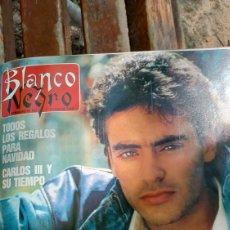 Coleccionismo de Revista Blanco y Negro: REVISTA BLANCO Y NEGRO 1988. SUMARIO . ANTHONY DELON - FERNANDO MARTÍN. Lote 274687543