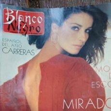 Coleccionismo de Revista Blanco y Negro: REVISTA BLANCO Y NEGRO AÑO 1988. SUMARIO. MERCEDES MILA - LA DECADA PRODIGIOSA. Lote 274804183