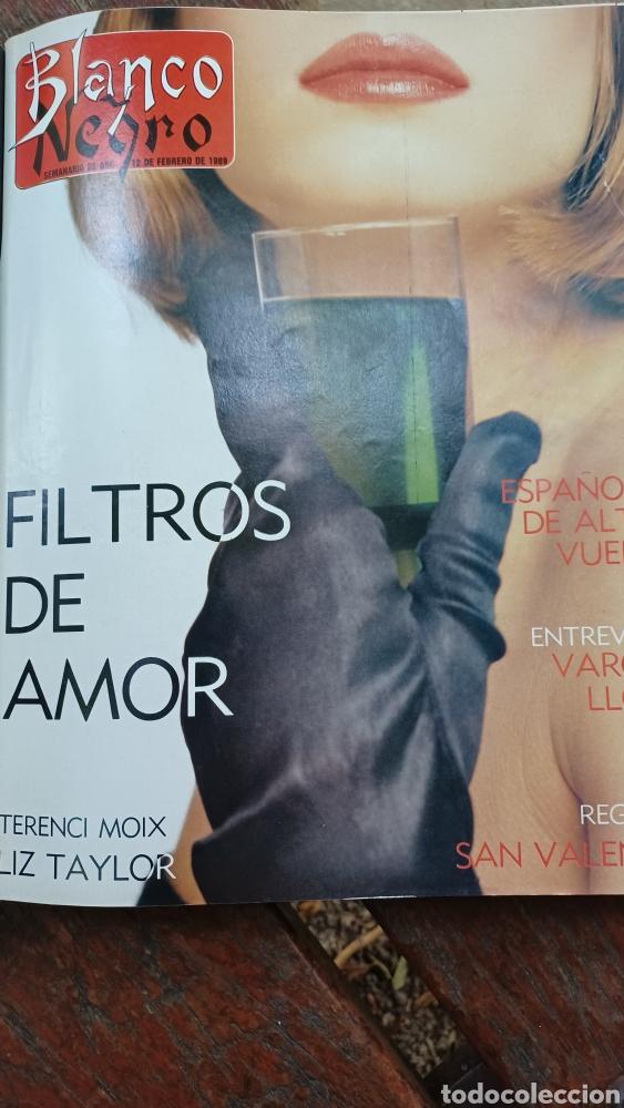 REVISTA BLANCO Y NEGRO 1989. SUMARIO. DANZA INVISIBLE - ENTREVISTA MARIO VARGAS LLOSA. (Coleccionismo - Revistas y Periódicos Modernos (a partir de 1.940) - Blanco y Negro)