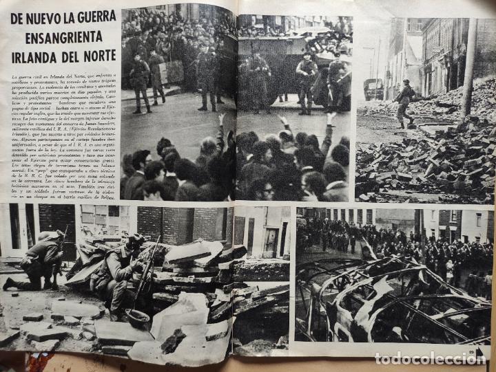 Coleccionismo de Revista Blanco y Negro: Nº 3068 20 FEBRERO 1971 - ALFONSO XIII 30 ANIVERSARIO MUERTE - GUERRA IRLANDA NORTE - LUCIA BOSE 86p - Foto 6 - 276395183