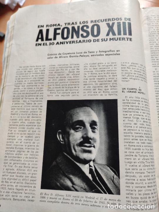 Coleccionismo de Revista Blanco y Negro: Nº 3068 20 FEBRERO 1971 - ALFONSO XIII 30 ANIVERSARIO MUERTE - GUERRA IRLANDA NORTE - LUCIA BOSE 86p - Foto 7 - 276395183
