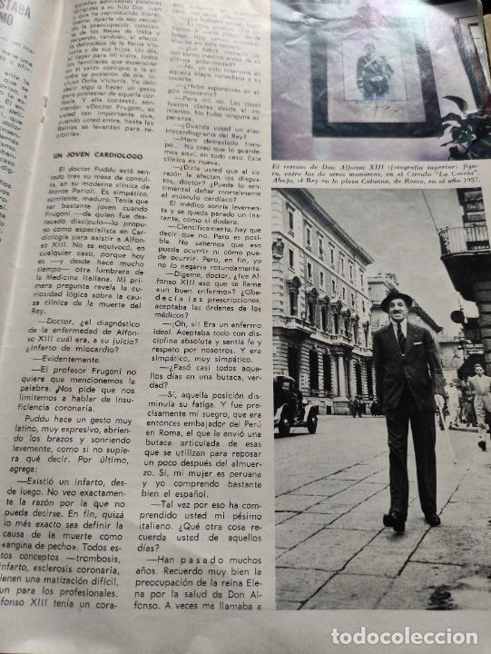 Coleccionismo de Revista Blanco y Negro: Nº 3068 20 FEBRERO 1971 - ALFONSO XIII 30 ANIVERSARIO MUERTE - GUERRA IRLANDA NORTE - LUCIA BOSE 86p - Foto 9 - 276395183
