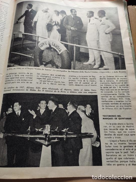 Coleccionismo de Revista Blanco y Negro: Nº 3068 20 FEBRERO 1971 - ALFONSO XIII 30 ANIVERSARIO MUERTE - GUERRA IRLANDA NORTE - LUCIA BOSE 86p - Foto 10 - 276395183