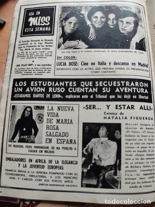 Coleccionismo de Revista Blanco y Negro: Nº 3068 20 FEBRERO 1971 - ALFONSO XIII 30 ANIVERSARIO MUERTE - GUERRA IRLANDA NORTE - LUCIA BOSE 86p - Foto 11 - 276395183
