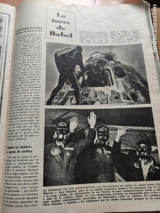 Coleccionismo de Revista Blanco y Negro: Nº 3068 20 FEBRERO 1971 - ALFONSO XIII 30 ANIVERSARIO MUERTE - GUERRA IRLANDA NORTE - LUCIA BOSE 86p - Foto 12 - 276395183