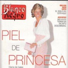 Coleccionismo de Revista Blanco y Negro: REVISTA BLANCO Y NEGRO Nº 4069 AÑO 1997. NICOLAS CAGE. JULIO IGLESIAS. JULIÁN GRAU SANTOS. DIANA.. Lote 276744243