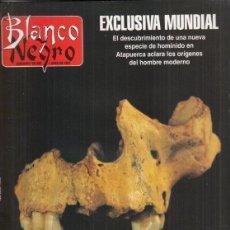 Coleccionismo de Revista Blanco y Negro: REVISTA BLANCO Y NEGRO Nº 4066 AÑPO 1997. NATALIA ESTRADA. EVA NAVARRO QUIJANO. HOMO ANTECESSOR.. Lote 276744668