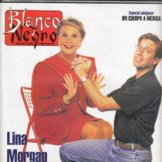 Coleccionismo de Revista Blanco y Negro: REVISTA BLANCO Y NEGRO Nº 4064 AÑO 1997. JIM CARREY. SALMA HAYET. LINA MORGAN Y EMILIO ARAGON.. Lote 276745018