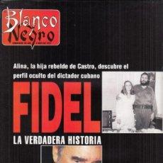 Coleccionismo de Revista Blanco y Negro: REVISTA BLANCO Y NEGRO Nº 4062 AÑO 1997. ROMINA Y AL BANO. MARTA GOMEZ DE LA SERNA. FIDEL CASTRO.. Lote 276745283
