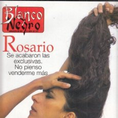 Coleccionismo de Revista Blanco y Negro: REVISTA BLANCO Y NEGRO Nº 4061 AÑO 1997. JEAN-CLAUDE VAN DAMME. JOSÉ DE LEÓN. TIGER WOODS. ROSARIO.. Lote 276745983