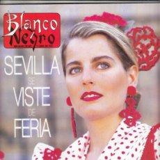 Coleccionismo de Revista Blanco y Negro: REVISTA BLANCO Y NEGRO Nº 4059 AÑO 1997. CARMELO GÓMEZ. KRISTIN SCOTT-THOMAS. NOOR DE JORDANIA.. Lote 276747023