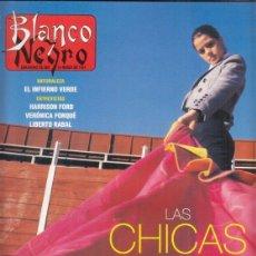 Coleccionismo de Revista Blanco y Negro: REVISTA BLANCO Y NEGRO Nº 4057 AÑO 14997. HARRISON FORD. LIBERTO RABAL. PABLO SYCET.. Lote 276747248