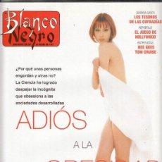 Coleccionismo de Revista Blanco y Negro: REVISTA BLANCO Y NEGRO Nº 4056 AÑO 1997. TOM CRUISE. PILAR GÓMEZ COSSÍO. BEE GEES.. Lote 276747353