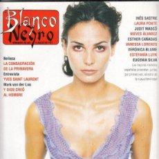 Coleccionismo de Revista Blanco y Negro: REVISTA BLANCO Y NEGRO Nº 4055 AÑO 1997. YVES SAINT LAURENT. INGRID RUBIO. ESPECIAL MODA.. Lote 276747473