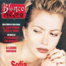 Coleccionismo de Revista Blanco y Negro: REVISTA BLANCO Y NEGRO Nº 4051 AÑO 1997. SOFÍA MAZAGATOS.ALEJANDRO AMNÁBAR. JUAN SORIANO.. Lote 276748068