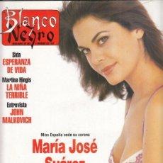 Coleccionismo de Revista Blanco y Negro: REVISTA BLANCO Y NEGRO Nº 4050 AÑO 1997. JOHN MALKOVICH. MARTINA HIGINS. LLUIS GORDILLO. JOSÉ SUÁREZ. Lote 276748253