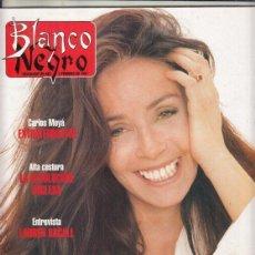 Coleccionismo de Revista Blanco y Negro: REVISTA BLANCO Y NEGRO Nº 4049 AÑO 1997. AMPARO MUÑOZ. JAVIER UTRAY. CARLOS MOYA. LAUREN BACALL.. Lote 276748438