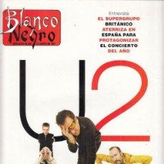 Coleccionismo de Revista Blanco y Negro: REVISTA BLANCO Y NEGRO Nº 4079 AÑO 1997. U2. ANNA KOURNIKOVA. FRANCOIS LEGRAND.. Lote 277011878