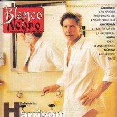 Coleccionismo de Revista Blanco y Negro: REVISTA BLANCO Y NEGRO Nº 4080 AÑO 1997. HARRISON FORD. ARITA SHARZAD. ALEJANDRO SANZ.. Lote 277012218