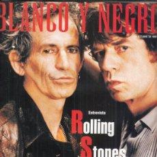 Coleccionismo de Revista Blanco y Negro: REVISTA BLANCO Y NEGRO Nº 4087 AÑO 1997. ROLLING STONE. AITANA SANCHEZ GIJÓN.. Lote 277015758