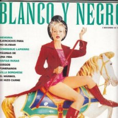 Coleccionismo de Revista Blanco y Negro: REVISTA BLANCO Y NEGRO Nº 4088 AÑO 1997. KIM BASINGER. VILLA BORGHESE. DOMINIQUE LAPIERRE.. Lote 277016523