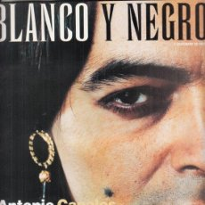 Coleccionismo de Revista Blanco y Negro: REVISTA BLANCO Y NEGRO Nº 4089 AÑO 1997. ANTONIO CANALES. LLÍS PACCUAL. ENYA.. Lote 277018338