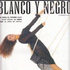 Coleccionismo de Revista Blanco y Negro: REVISTA BLANCO Y NEGRO Nº 4094 AÑO 1997. PENÉLOPE CRUZ. CATHERINE DENEUVE. JAMES BOND.. Lote 277020448