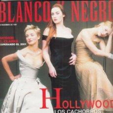 Coleccionismo de Revista Blanco y Negro: REVISTA BLANCO Y NEGRO Nº 4096 AÑO 1997. ARTHUR C. CLARKE. EVARISTO GUERRA. TEX-MEX. HOLLYWOOD.. Lote 277022268