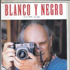 Coleccionismo de Revista Blanco y Negro: REVISTA BLANCO Y NEGRO Nº 4165 AÑO 1999. OUSMANE SOW. CARLOS SAURA. DOÑANA UN AÑOS DESPUÉS.. Lote 277026633