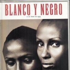 Coleccionismo de Revista Blanco y Negro: REVISTA BLANCO Y NEGRO Nº 4163 AÑO 1999. ANDREA BOCELLI. ESTACIONES DE EUROPA IMAN Y WALLIS DIRIE.. Lote 277027223