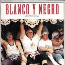 Coleccionismo de Revista Blanco y Negro: REVISTA BLANCO Y NEGRO Nº 4161 AÑO 1999. ANTONIO BUERO VALLEJO. COSTALEROS DE SEVILLA.. Lote 277027973