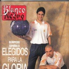 Coleccionismo de Revista Blanco y Negro: REVISTA BLANCO Y NEGRO Nº 4020 AÑO 1996. GLORIA STEFAN. ATLANTA 96. RAÚL E IVÁN DE LA PEÑA.. Lote 277136858